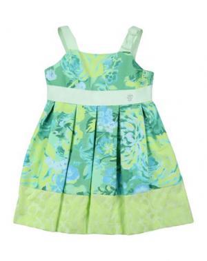 Платье I PINCO PALLINO I&S CAVALLERI. Цвет: светло-зеленый