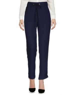 Повседневные брюки PESERICO. Цвет: темно-синий