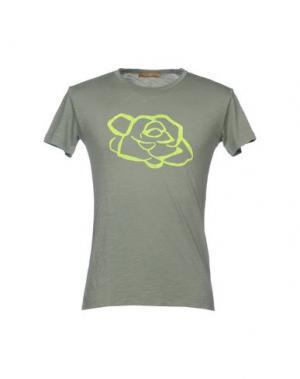 Футболка JEY COLE MAN. Цвет: зеленый-милитари