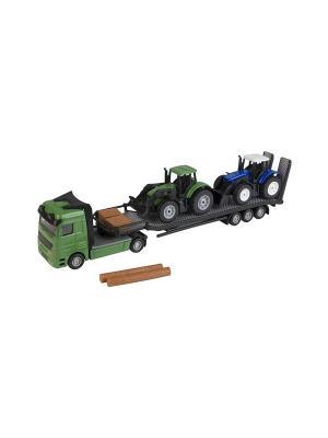 Перевозчик трактора HTI. Цвет: зеленый