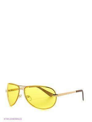Солнцезащитные очки Vittorio Richi. Цвет: оранжевый, желтый
