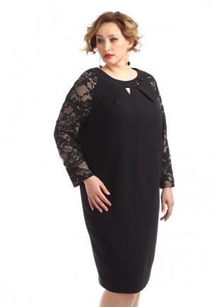 Платье Averi. Цвет: черный