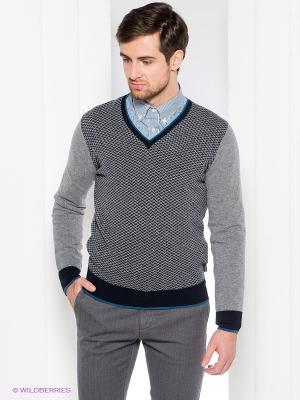 Пуловер Henry Cotton's. Цвет: темно-серый