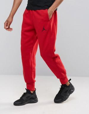 Jordan Красные джоггеры узкого кроя Nike 823071-687 Flight. Цвет: красный