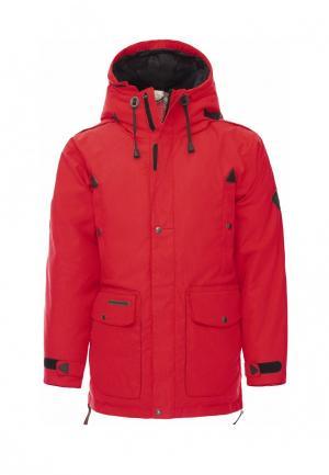 Куртка Bask. Цвет: красный