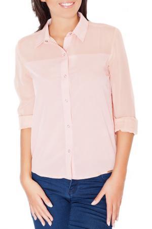 Рубашка KATRUS. Цвет: розовый