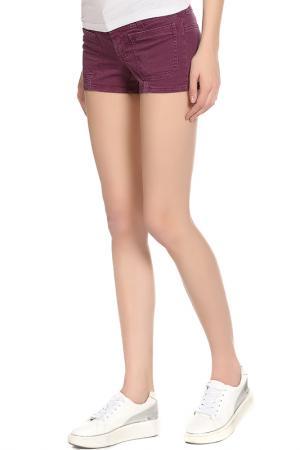 Шорты Galliano. Цвет: фиолетовый