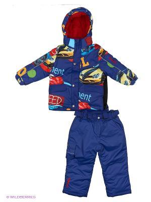 Комплект одежды PicCo. Цвет: темно-синий, желтый, красный