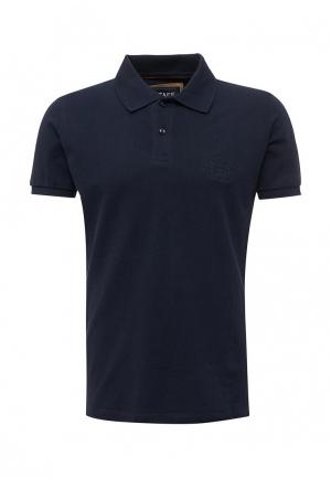 Поло Staff Jeans & Co.. Цвет: синий