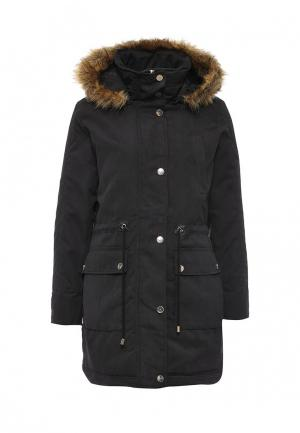 Куртка утепленная Top Secret. Цвет: черный