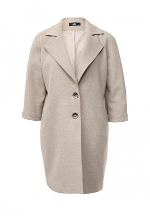 Пальто adL. Цвет: бежевый