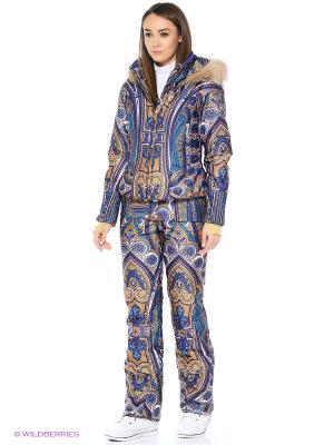 Куртка Stayer. Цвет: бежевый, голубой, коричневый, темно-фиолетовый