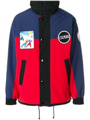 Куртка с заплатками Au Jour Le For Colmar. Цвет: многоцветный