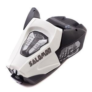 Крепления для лыж  C5 Size J75 White Salomon. Цвет: черный,белый