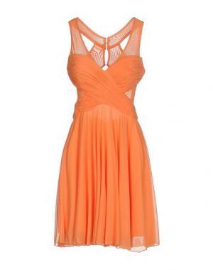 Короткое платье MUSANI COUTURE. Цвет: оранжевый