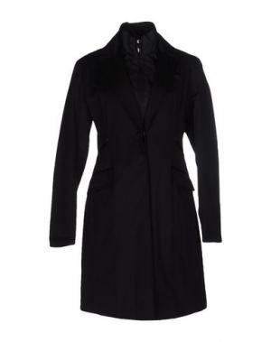 Пальто PIERO GUIDI. Цвет: черный