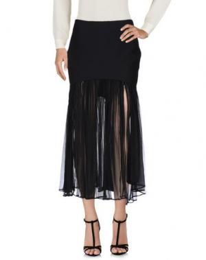 Длинная юбка VIOLANTE NESSI. Цвет: черный