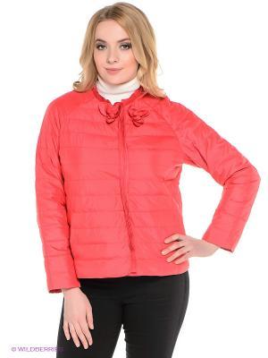 Куртка Sinta Via. Цвет: коралловый