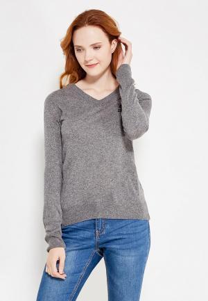 Пуловер Franklin & Marshall. Цвет: серый