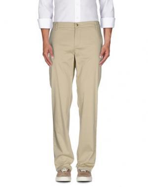Повседневные брюки MONKEE GENES. Цвет: бежевый