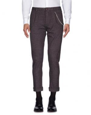 Повседневные брюки MANUEL RITZ. Цвет: красно-коричневый