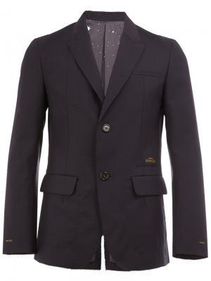 Однобортный пиджак Undercover. Цвет: синий