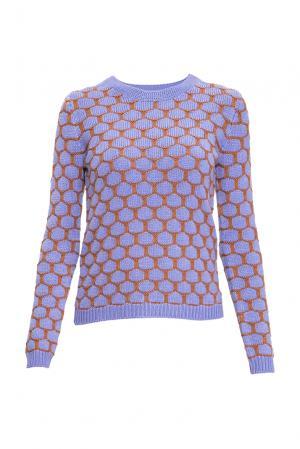 Джемпер из шелка с кашемиром 136704 Sweet Sweaters. Цвет: фиолетовый