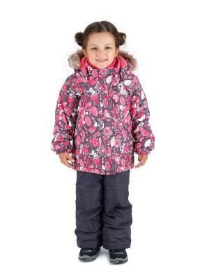 Комбинезон зимний: куртка и брюки Premont. Цвет: красный, антрацитовый