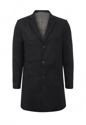 Пальто утепленное Trussardi Jeans. Цвет: синий