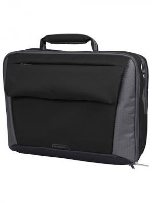Сумка с отделением для ноутбука Sumdex. Цвет: черный