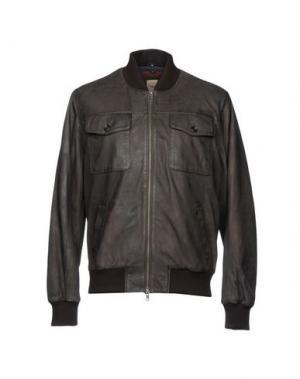 Куртка D'AMICO. Цвет: темно-коричневый