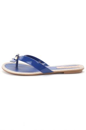Сланцы Beira Rio. Цвет: синий