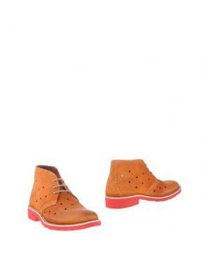 Полусапоги и высокие ботинки GABARDINE. Цвет: оранжевый