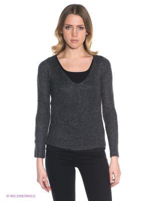 Пуловер GARCIA. Цвет: темно-серый