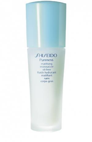 Увлажняющее средство с матирующим эффектом Pureness Shiseido. Цвет: бесцветный