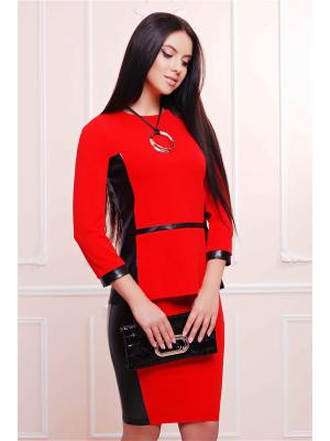 Костюм Fashion Up. Цвет: красный, черный