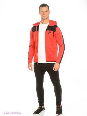 Спортивный костюм M NSW AV15 TRK SUIT PK Nike. Цвет: красный, черный