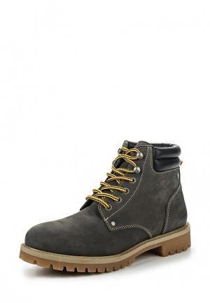 Ботинки Jack & Jones. Цвет: серый