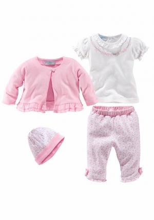 Набор для детей (4 вещи) Otto. Цвет: розовый