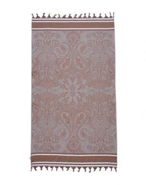 Пляжное полотенце 8. Цвет: светло-коричневый