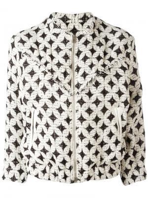 Куртка-бомбер Ferdy Iro. Цвет: чёрный