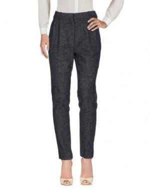 Повседневные брюки CÉLINE. Цвет: свинцово-серый