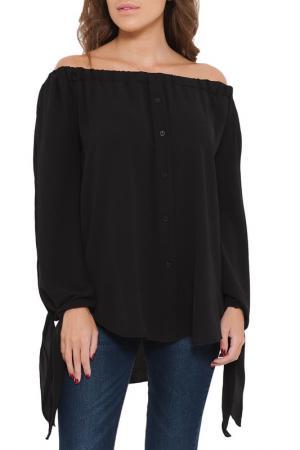 Блуза SHES SECRET SHE'S. Цвет: черный