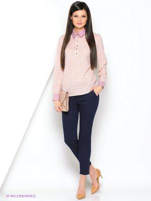 Блуза Ksenia Knyazeva. Цвет: оранжевый