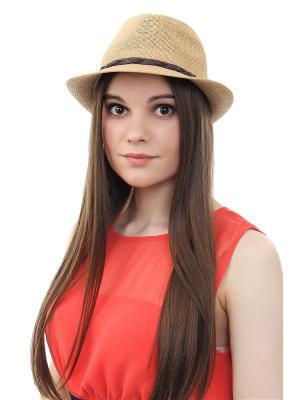 Шляпа Olere. Цвет: бежевый, коричневый
