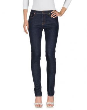 Джинсовые брюки MALÌPARMI M.U.S.T.. Цвет: синий