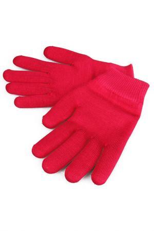 Увлажняющие гелевые перчатки Medolla. Цвет: тёмно-розовый