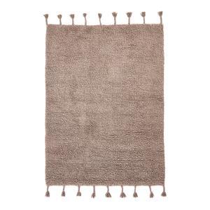 Ковёр в берберском стиле из шерсти, Néroli AM.PM.. Цвет: каштановый