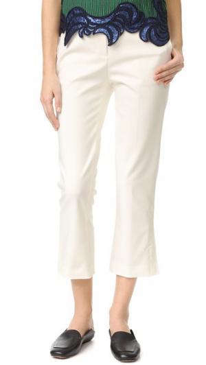 Расклешенные брюки Kick 3.1 Phillip Lim. Цвет: белый
