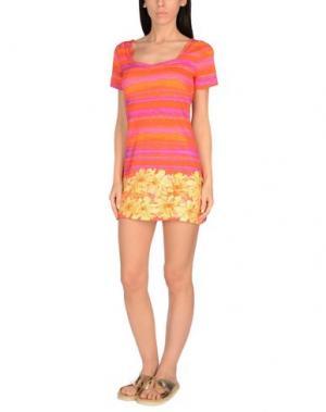 Пляжное платье LUNA. Цвет: оранжевый